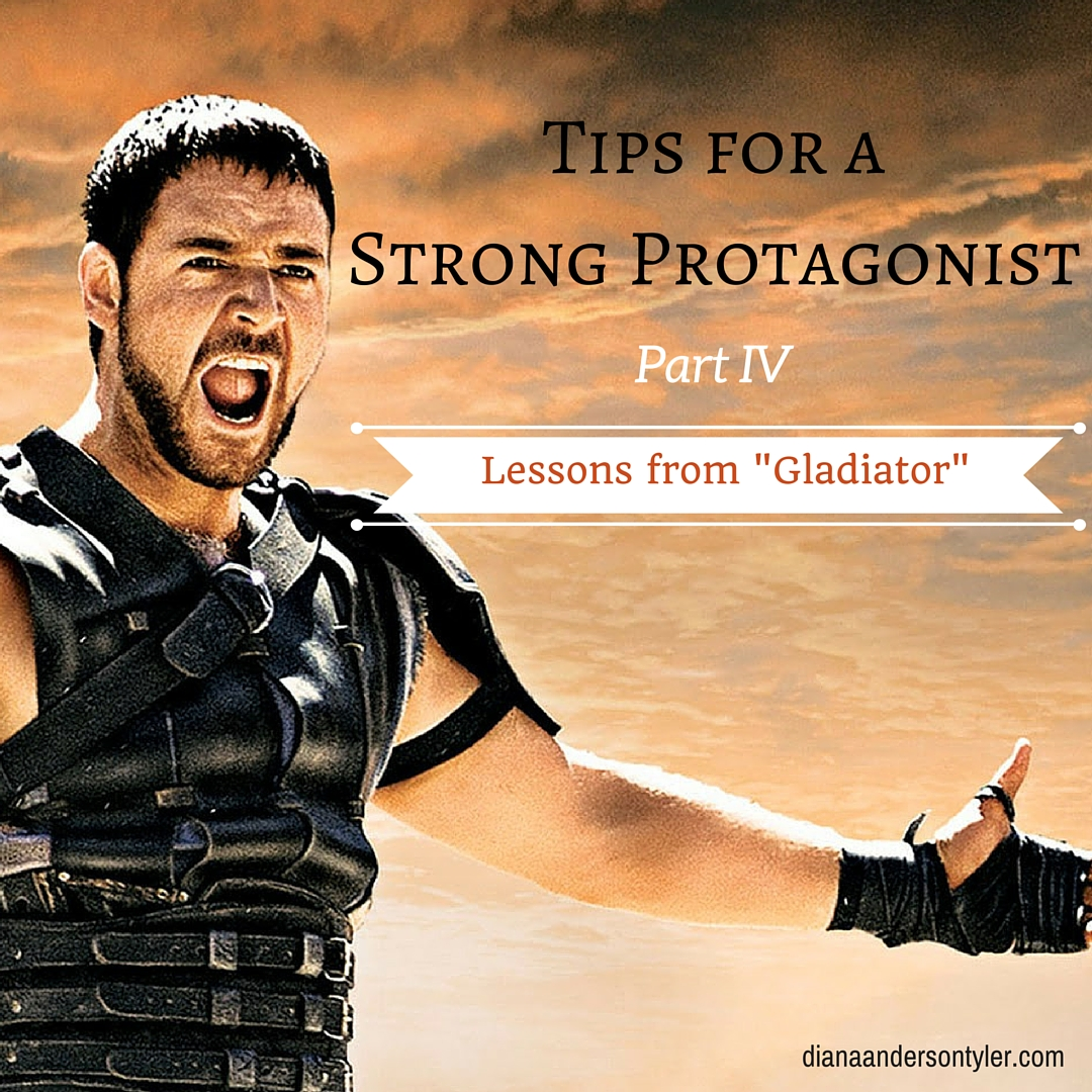"""Diana Anderson-Tyler uses """"Gladiator"""" as a teaching tool for building strong main characters"""