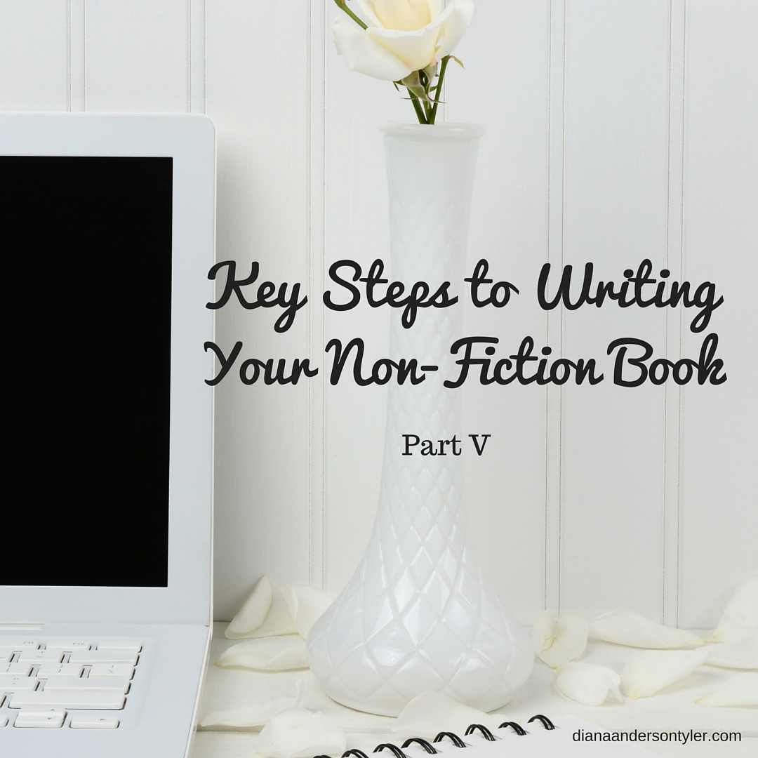 Writing non fiction book