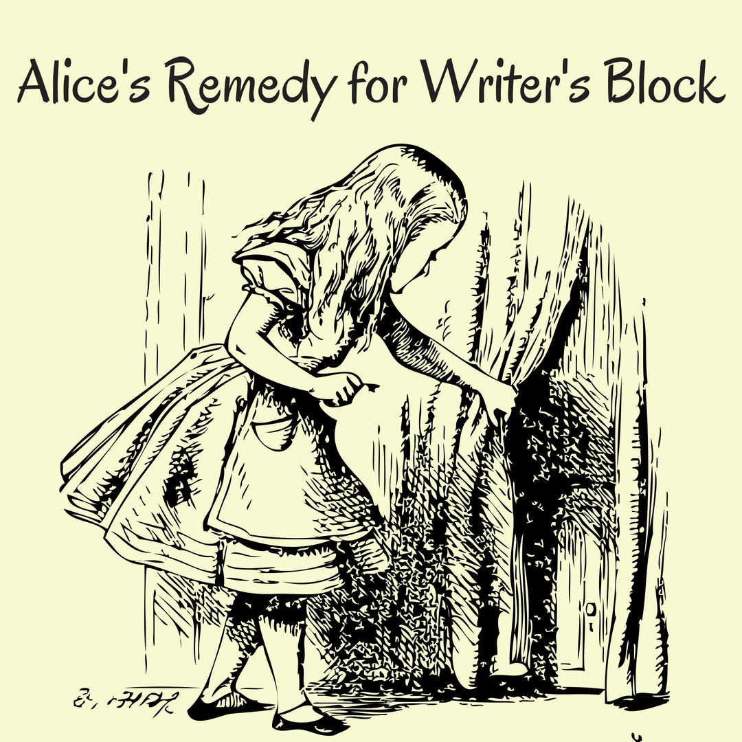 Alice's Remedy for Writer's Block