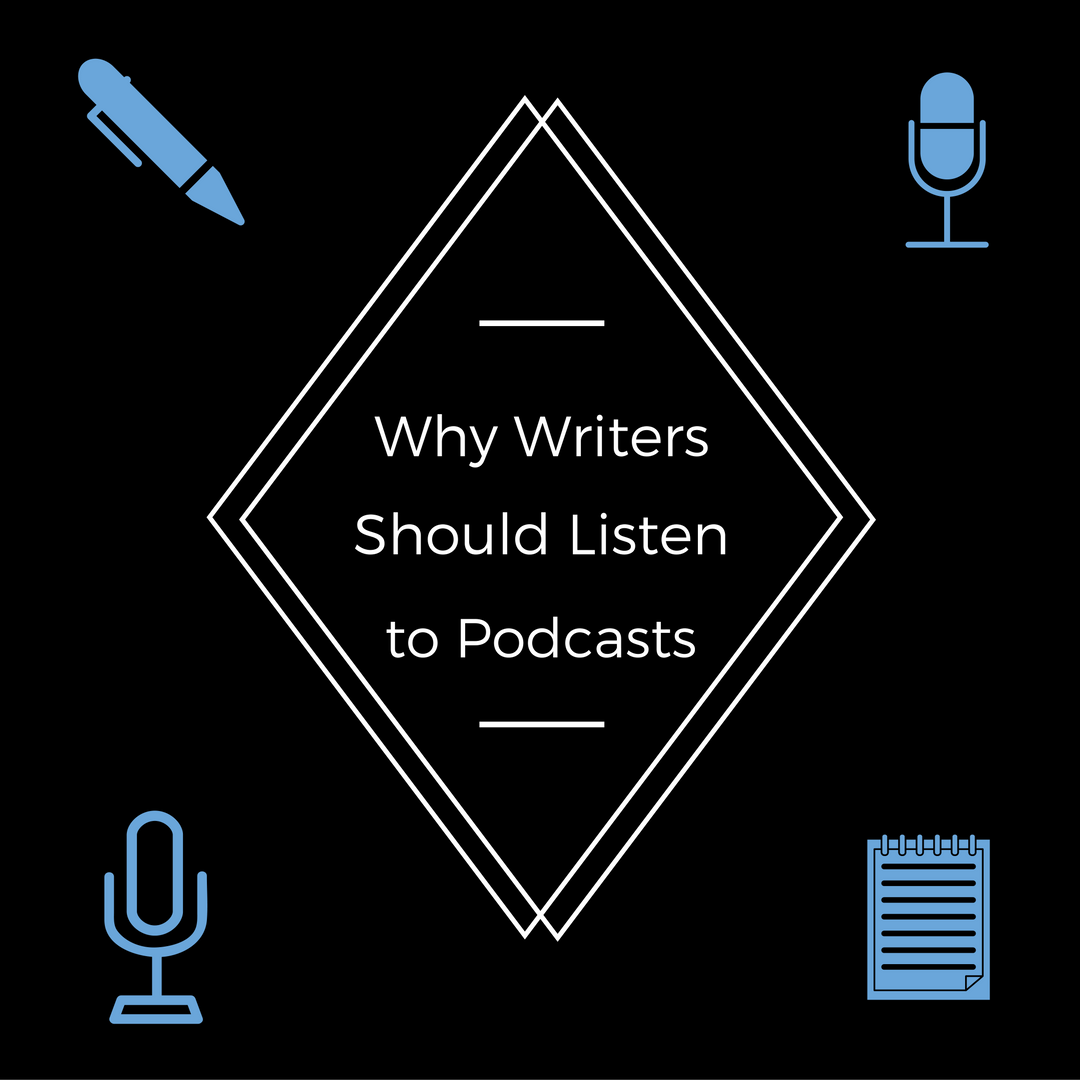 Why Writers Should Listen to Podcasts - by Diana Tyler